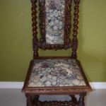 Hunt Style Upholstered Chair